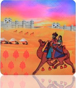 Ecocorner Indian Art Camel Fridge Magnet