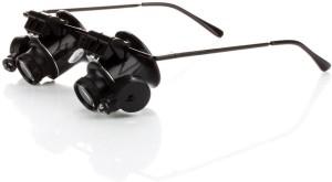4e80052143eb Pia International DUAL GLASS WITH 2LED 20X Magnifying Glass Black ...