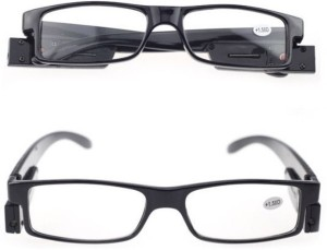 a55dea4daa99 Kawachi Multi Strength LED Reading Glasses Eyeglass Spectacle Diopter  Magnifier Light UP 3 Strength to choose : +1.50 +2.00 +2.50 Reading Glasses Black