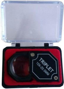 a1e1fcf38dd1 toolsmart triplet 10x eye loupe Black Best Price in India ...