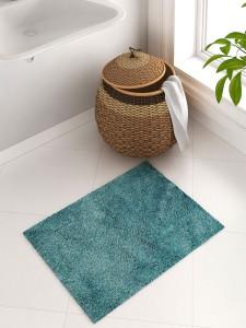 SPACES Cotton Bath Mat SPACES Exotica Grand Teal Cotton Bath Mat - Large