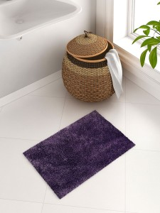SPACES Cotton Bath Mat SPACES Exotica Grand Purple Cotton Bath Mat - Small
