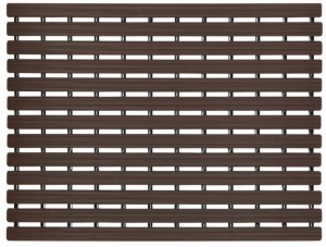 Naxan PVC Bath Mat PVC Ribbed Shower mat