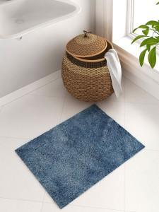 SPACES Cotton Bath Mat SPACES Exotica Grand Ink Blue Cotton Bath Mat - Large