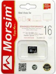 Sprik Morsim 16 GB MicroSD Card Class 10 48 MB/s  Memory Card