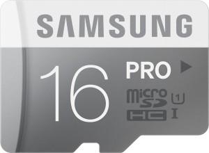 Samsung Pro 16 GB MicroSDHC Class 10 90 MB/s  Memory Card