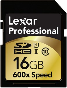Lexar 16 GB SDHC Class 10  Memory Card