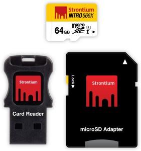 Strontium Nitro 64 GB SDHC Class 10  Memory Card