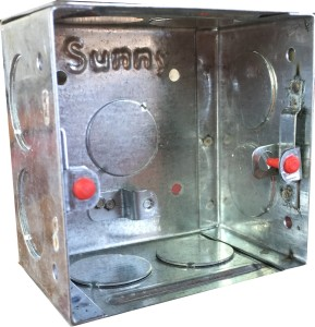 Sunny SG-1602 Metal Electrical Box