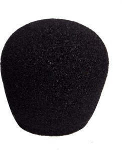 SRK SRK FOAM-03 Foam for Ball-Type Handheld Microphone Windscreen, Windshield Sponge Foam Mic Cover-BLACK WINDSCREEN