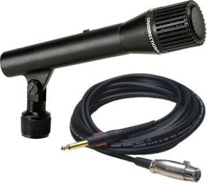 Krown Krown 98 Xlr Multipurpose Economy Pa Series Mic With Inbuilt Holder Microphone