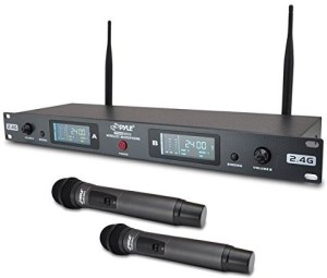 Pyle PDWM3800 Wireless Microphone System Microphone