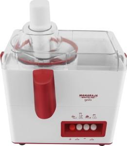 371c4794b06 Maharaja Whiteline Gala 450 W Juicer Mixer Grinder White Red 3 Jars Best  Price in India