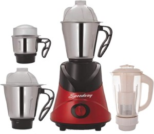 Sdway Combo Pack Of 4 Jars With 1 Red Blender Attachment Free Sw 261