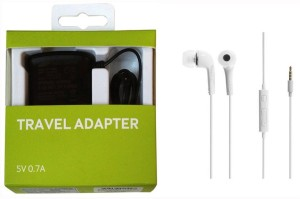 OTD Wall Charger Accessory Combo for Samsung Cloud Style 4G
