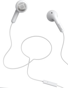 Defunc GO Talk (Swedish Brand) White Wired Headphones