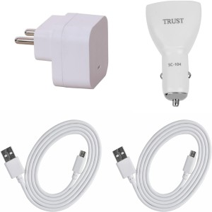 Trust Wall Charger Accessory Combo for Oppo F1 Plus