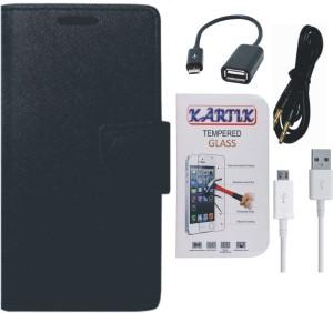 Kartik Cover Accessory Combo for Xiaomi Redmi Note Prime