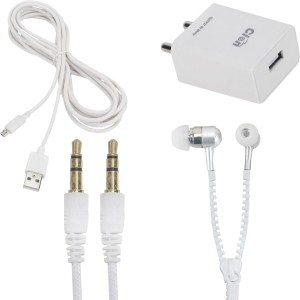 Cion Wall Charger Accessory Combo for XIAOMI Redmi Note 4G