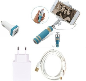 Cell Planet Wall Charger Accessory Combo for Apple iPhone 6