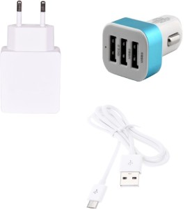 Zootkart Wall Charger Accessory Combo for Lenovo K3 Note