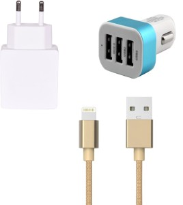 Zootkart Wall Charger Accessory Combo for Apple iPhone 6S Plus