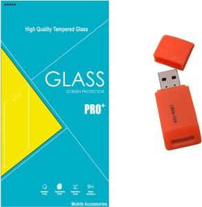 Mobilecops Premium Quality Panasonic Eluga S (C-TEMP1230) Accessory Combo