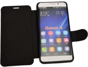 meet 9c60d fc01d nCase Flip Cover for Huawei Honor 6 H60-L04Black