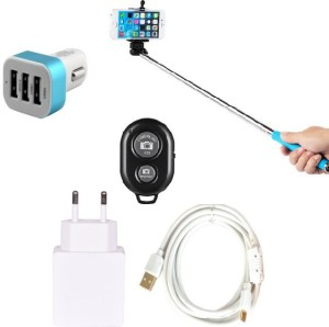 Cell Planet Wall Charger Accessory Combo for Apple iPhone 6S Plus