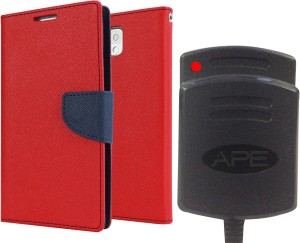 Ape Dairy Cover and Battery charger for samsung Galaxy J7 Accessory Combo