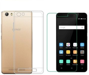 promo code 20a46 04bd7 Akkase Cover Accessory Combo for Gionee P5lTransparent