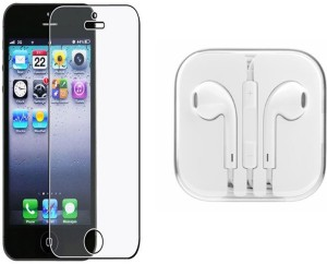 Mocell Screen Protector Accessory Combo for Apple Iphone 5S