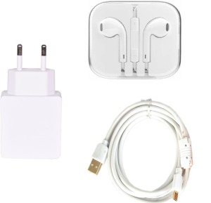 Mudit Retail Ventures Wall Charger Accessory Combo for Apple iPhone 6