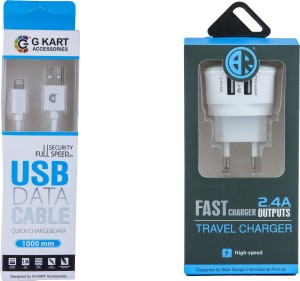 G-KART Wall Charger Accessory Combo for Apple iphone 5S