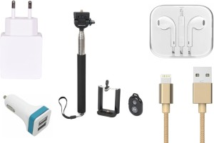 Robmob Selfie Stick Accessory Combo for Apple iPhone 6S Plus