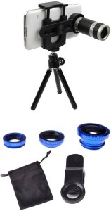 PH Artistic Mobile Phone Lens Accessory Combo for All smartphones, Apple iPhone, Android, Universally Compatible, Samsung