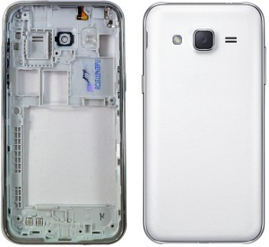 320431f418e TOTTA Front Back Case for SAMSUNG Galaxy J2 White Plastic Best Price ...
