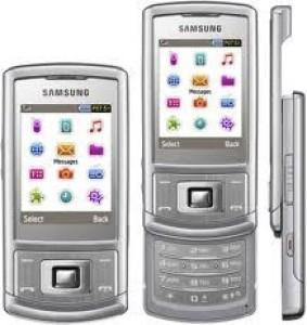 Edge Plus Samsung S3500 Front & Back PanelSilver