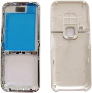 super popular c7a2e 9cf49 TOTTA Front & Back Case for Nokia 6120 ClassicWhite