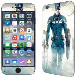 Theskinmantra Captain America Walks Apple iPhone 6S Mobile SkinMulticolor
