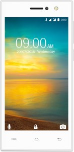 Lava A76+ 4G with VoLTE (White, 8 GB)