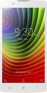 Lenovo A2010 (White, 8 GB)