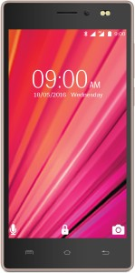 Lava X17 4G with VoLTE (Black & Gold, 8 GB)