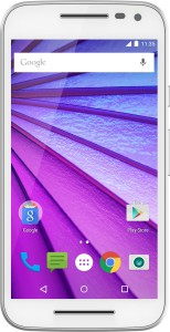 Moto G (3rd Generation) (White, 8 GB)