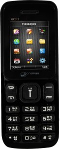 Micromax GC313 BLACK GSM+CDMA