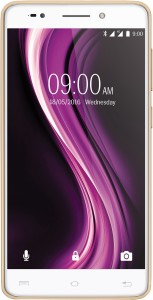 Lava X81 4G with VoLTE (Gold, 16 GB)