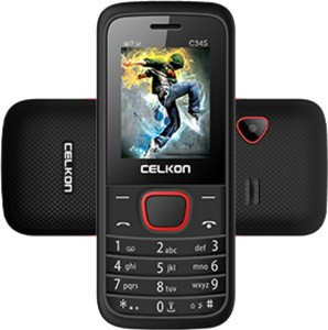 Celkon C345BLACK+RED