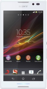 Sony Xperia C (White, 4 GB)