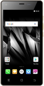 Micromax Canvas 5 Lite-Special Edition (Walnut Wood, 16 GB)