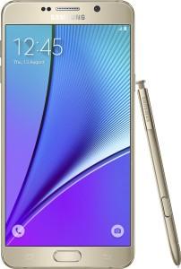 Samsung Galaxy Note 5 (Dual Sim) (Gold Platinum, 32 GB)